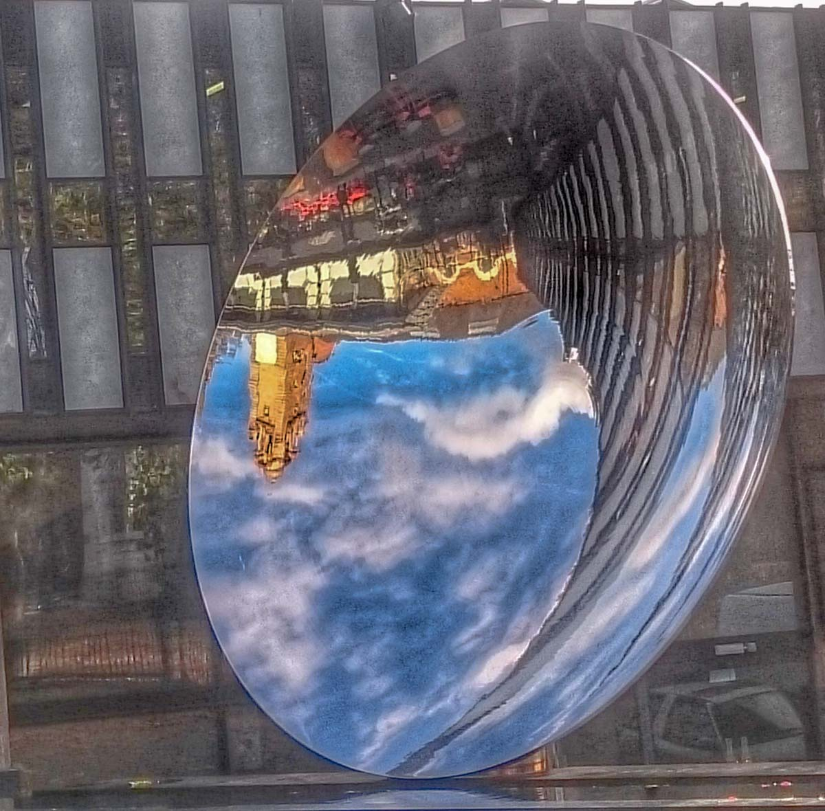 Sky-Mirror-at-the-Nottingham-Playhouse A Nottingham Wander – Vibrant and Always an Adventure