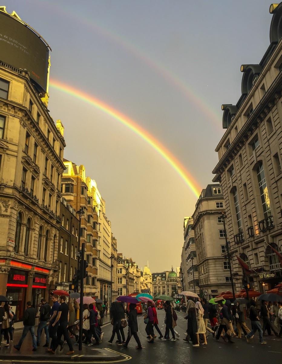 Soho-Rainbow Fairy Lights: A Cosmic Connection