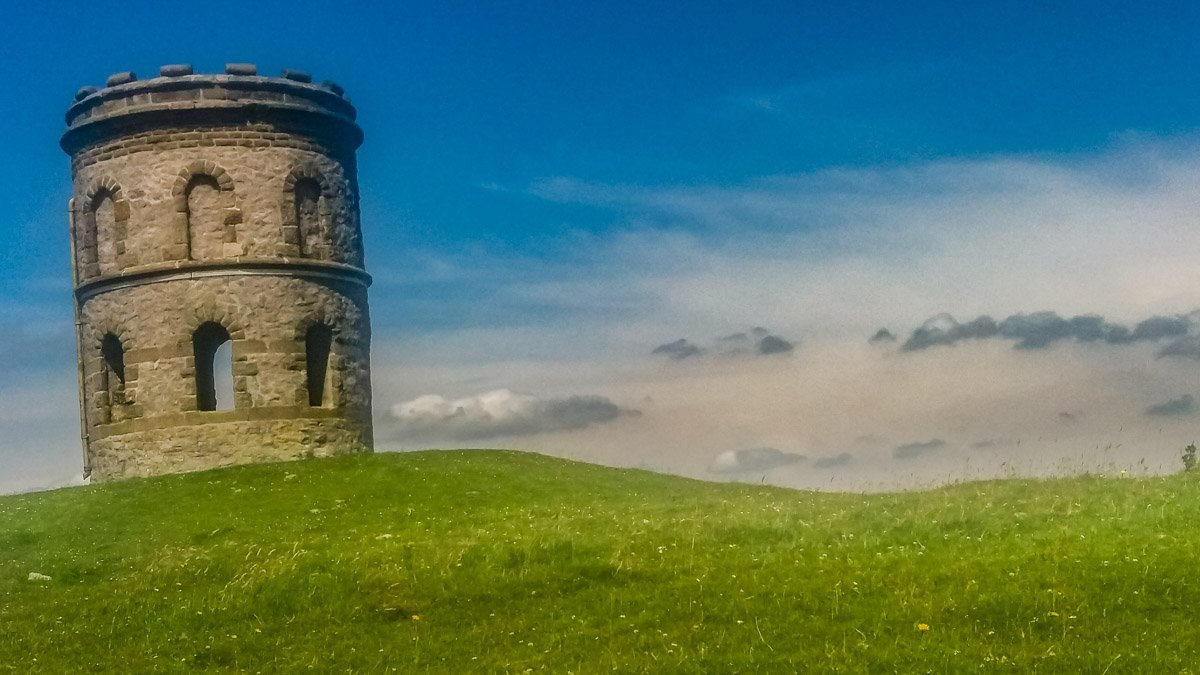 the tower on a hill