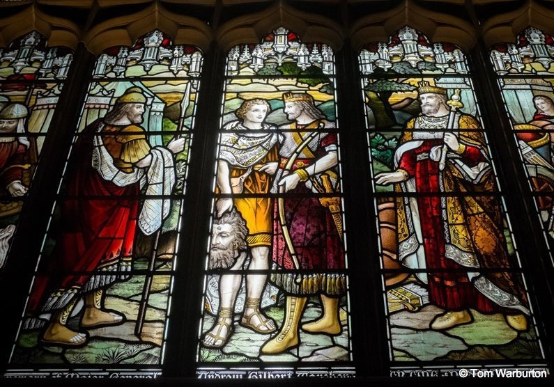 Edinburgh – Inside St Giles' Cathedral