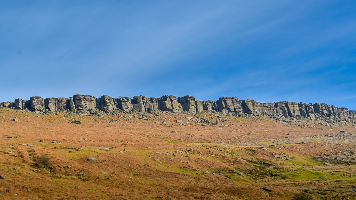 Stanage-Edge Stanage Edge and Robin Hoods Cave – A Stroll in the Peak District