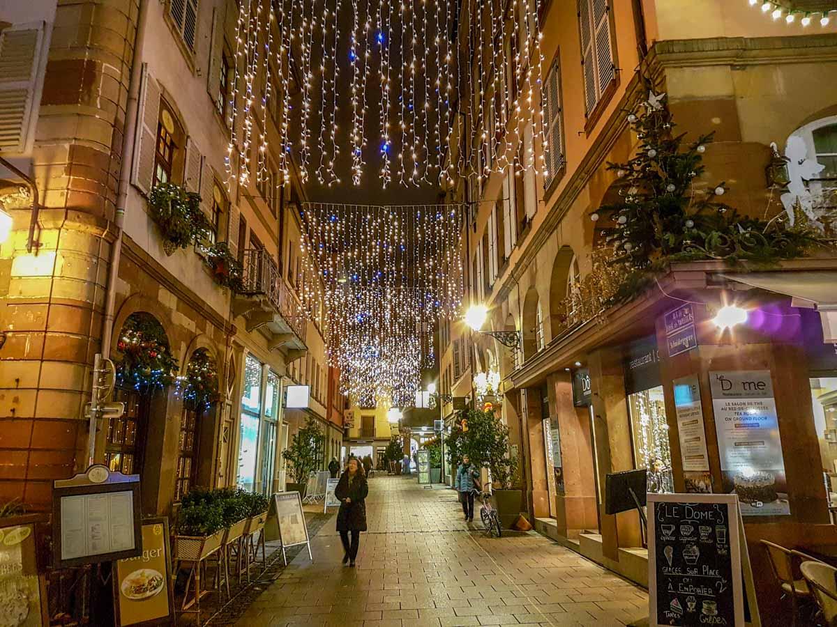 Strasbourg-side-street A Magical Christmas in Strasbourg