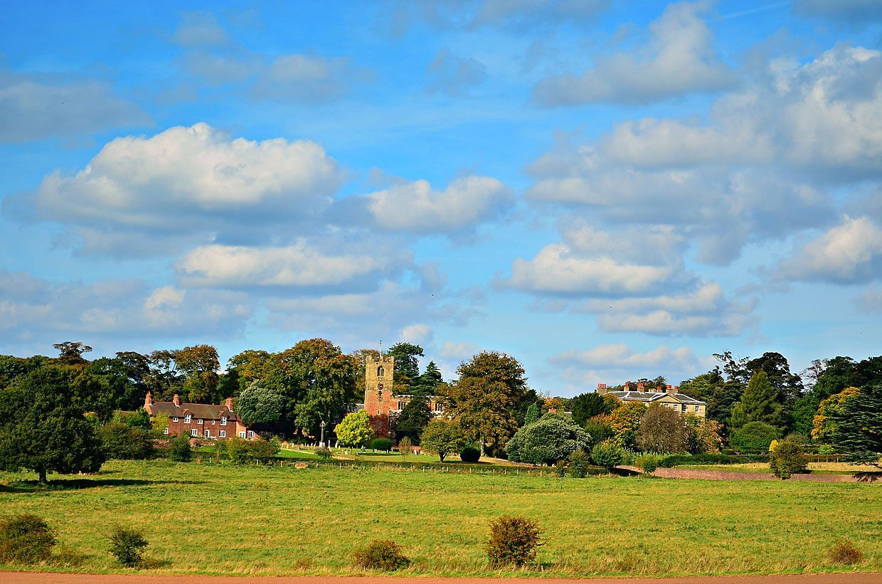 Strelley Village and Hall, a Nottinghamshire Gem