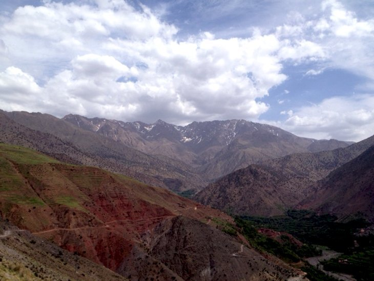 The week ahead :) up and up. Summit (Mt Toubkal) still hidden behind #ExodusTrek