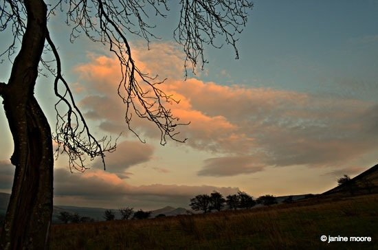 Sunset-on-the-clouds-at-the-end-of-the-day Dark Hills and Green Dales – An Edale walk
