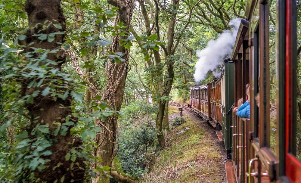 Talyllyn railway steam train