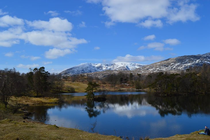 old man of coniston from tarn hows