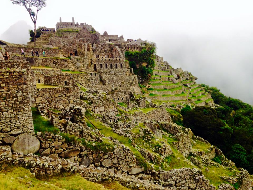 Terraces-at-Machu-Picchu The Magic of Machu Picchu