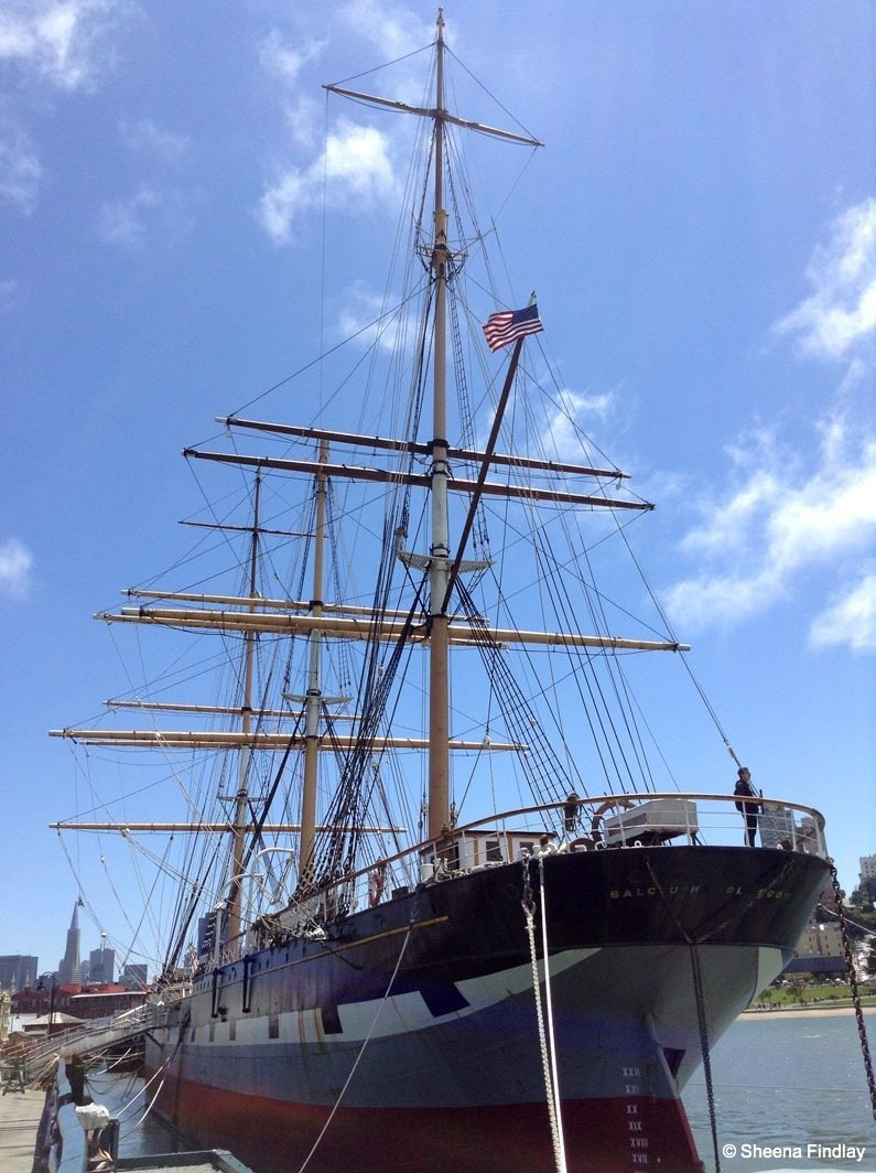 The-1886-square-rigger-Balclutha Beyond the streets of San Francisco