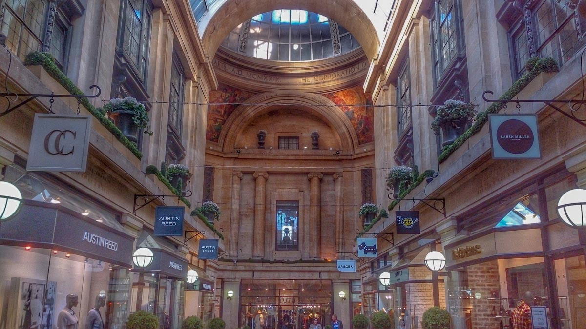 The-Exchange-Arcade A Nottingham Wander – Vibrant and Always an Adventure