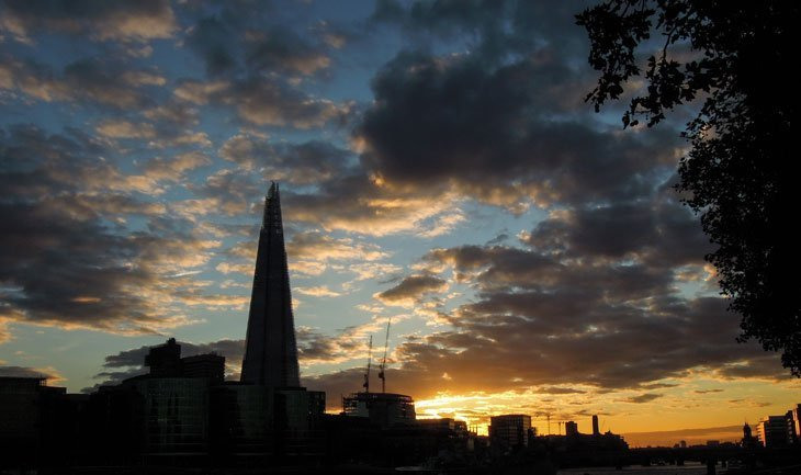 The-Shard-at-night Intoxicated By London With Marianne Knight