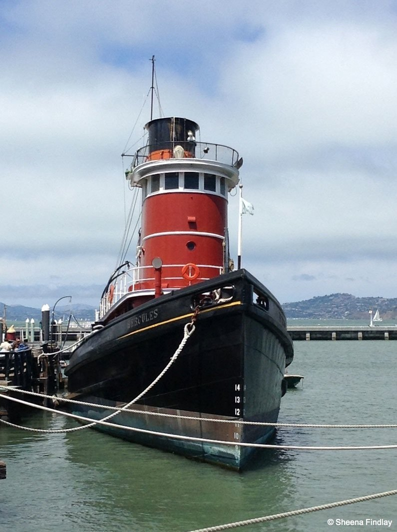 The-steam-tug-Hercules Beyond the streets of San Francisco