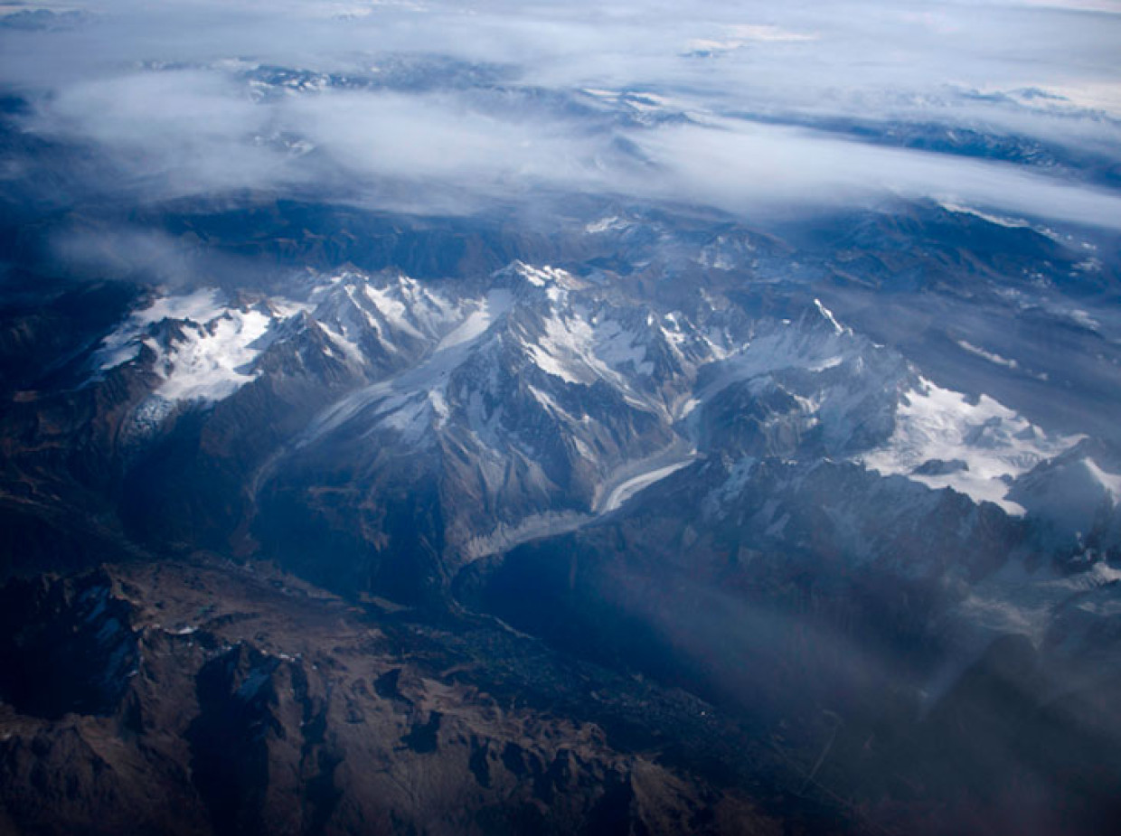 The Alps of Germany and Flying High