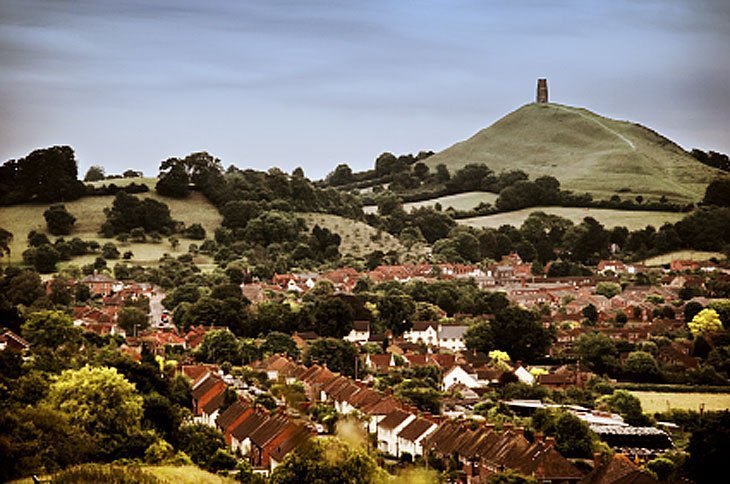 Tor4 Little Hill With Big Legends   Glastonbury Tor