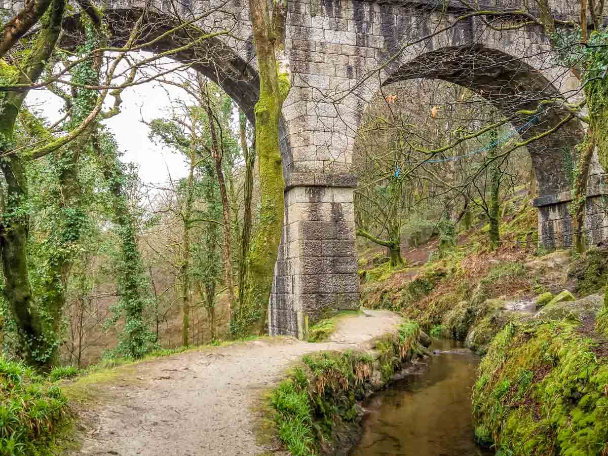 Treffry-Viaduct Luxulyan Valley Walk, Cornwall – Industrial Heritage and Natural Beauty