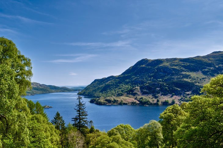 Ullswater2 Beautiful Britain – A Glen, Lake and a Beach
