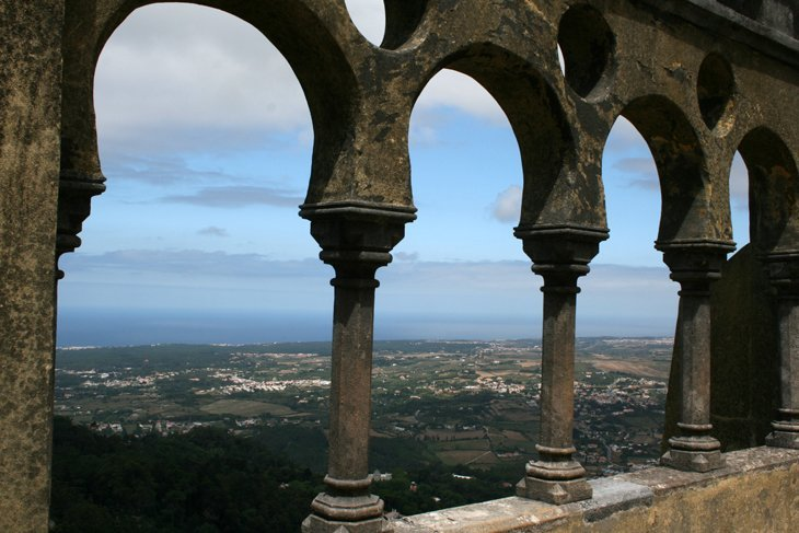 View-from-Palace-of-the-Pen Portugal: Sintra – A Fairy Tale Escape