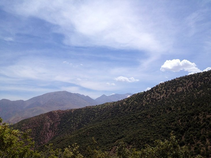 View2 Trekking To The Top Of North Africa   Mt Toubkal