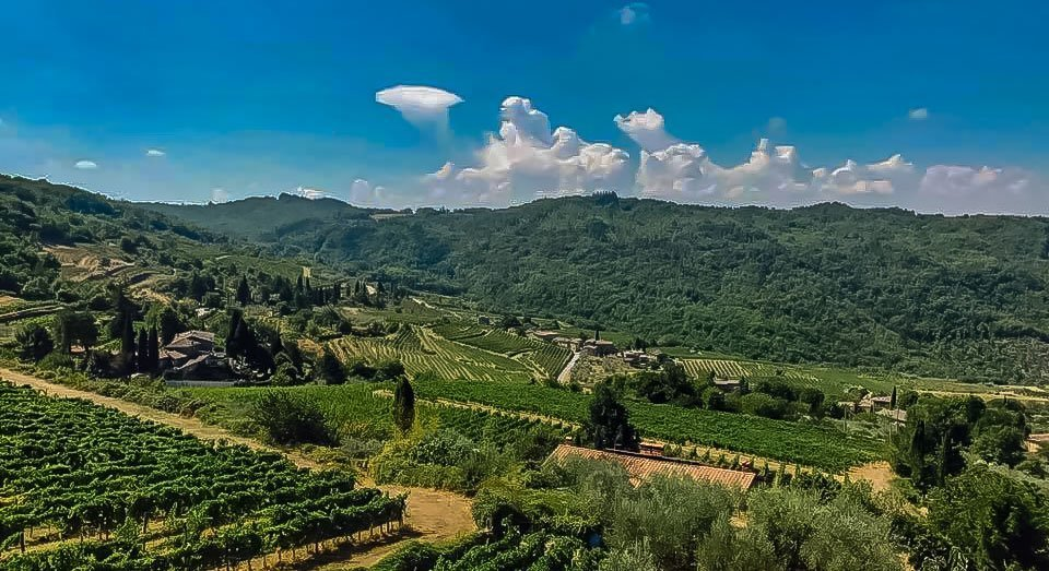 Honeymooning in Tuscany