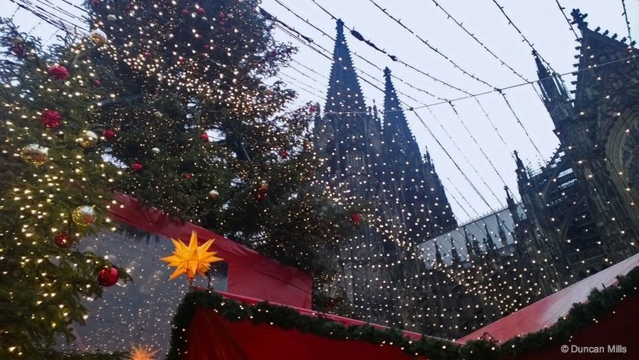 German Christmas markets in Cologne