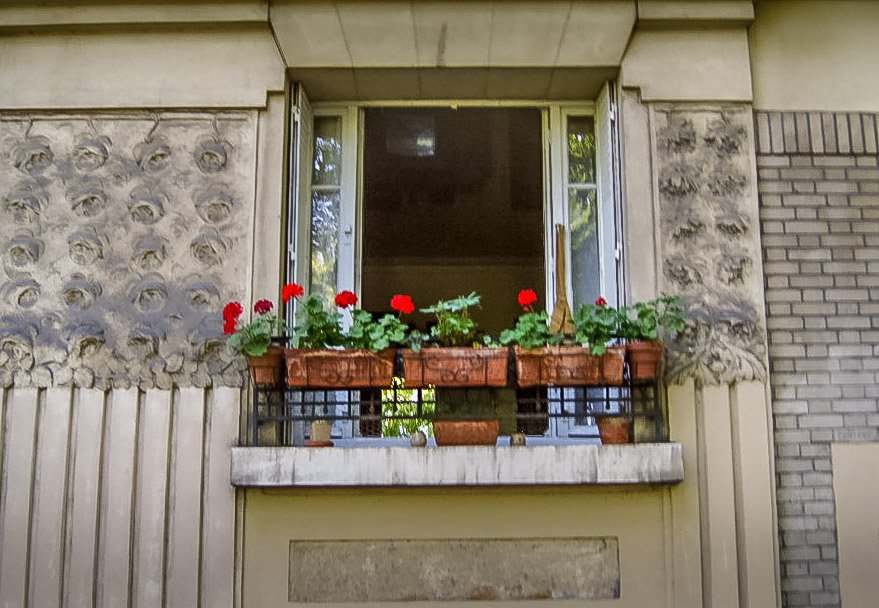 Window-flower-box-1 Paris - People, Places and Spaces
