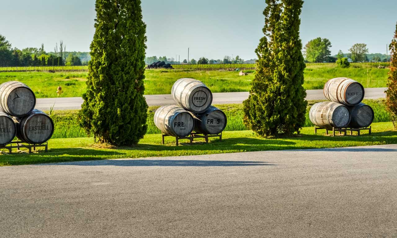 Wine-Barrels Ice Wine Tasting – Lakeview Wine Co,  Niagara-on-the-lake, Canada