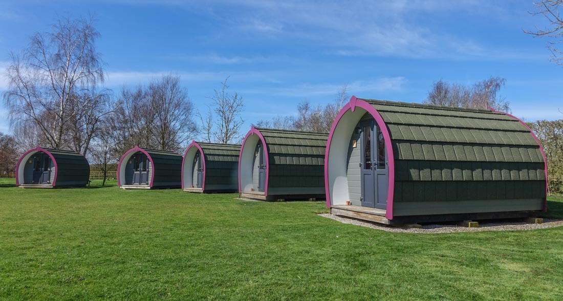 York Holiday & Cycle Stop – Glamping Great For All