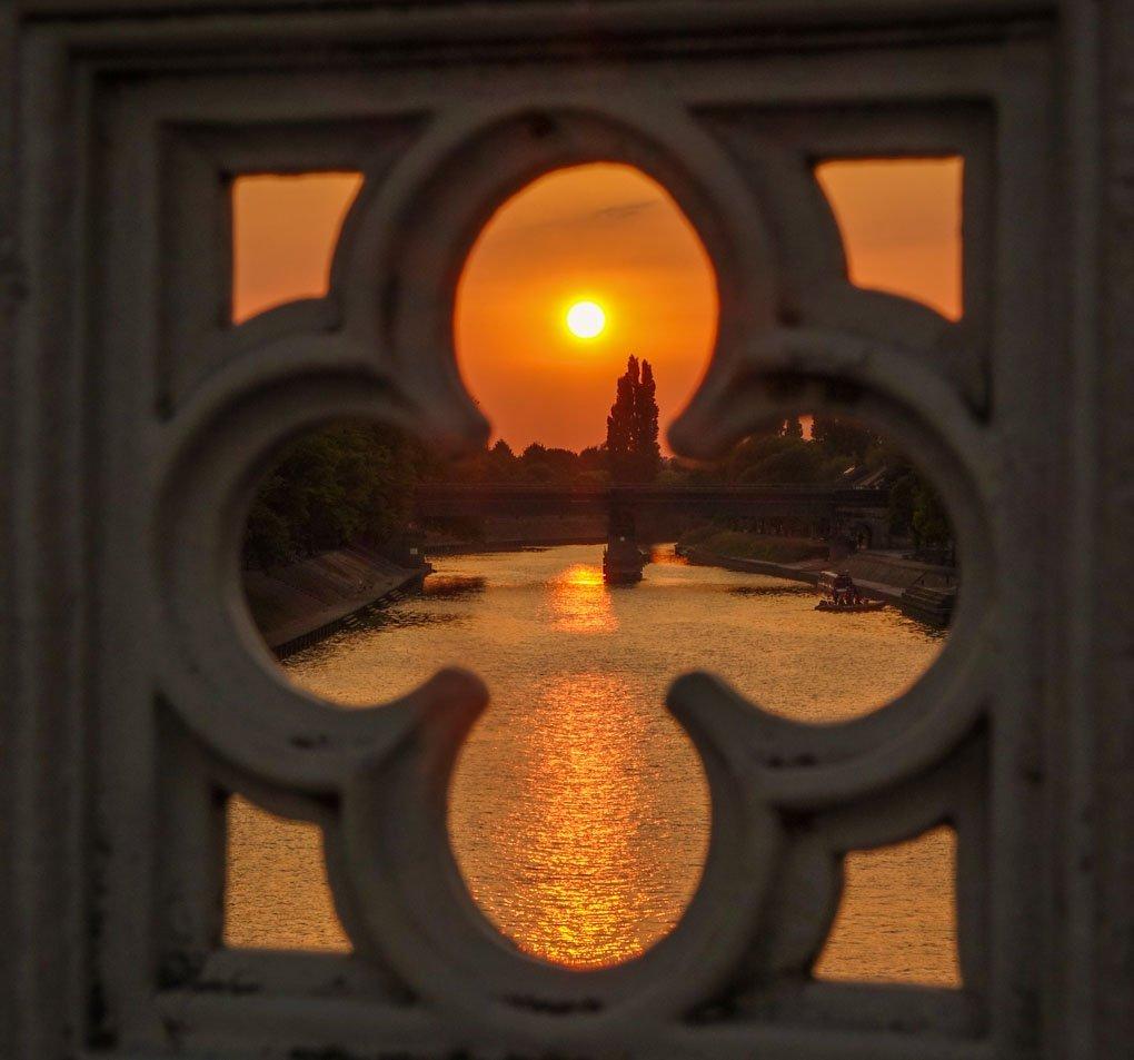 Sunsets Around York
