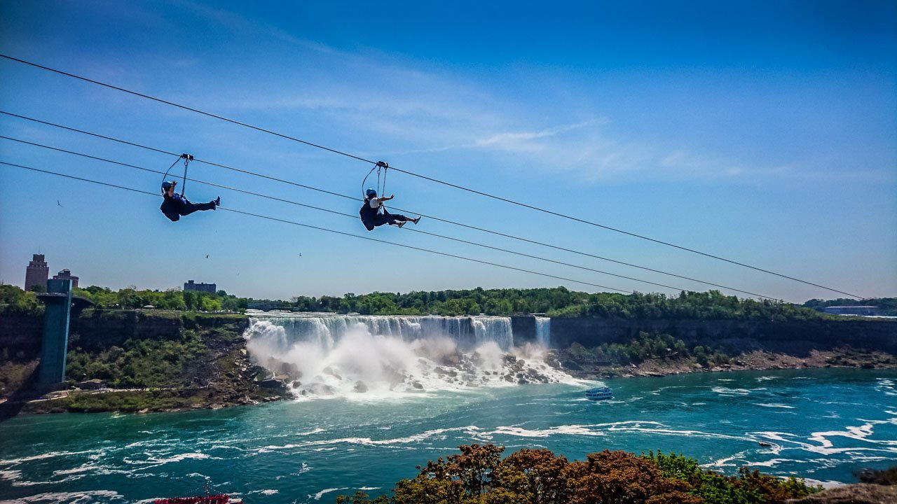 ZIp-lines-fly-past-the-falls Niagara Falls, an Experience with Memories to Treasure