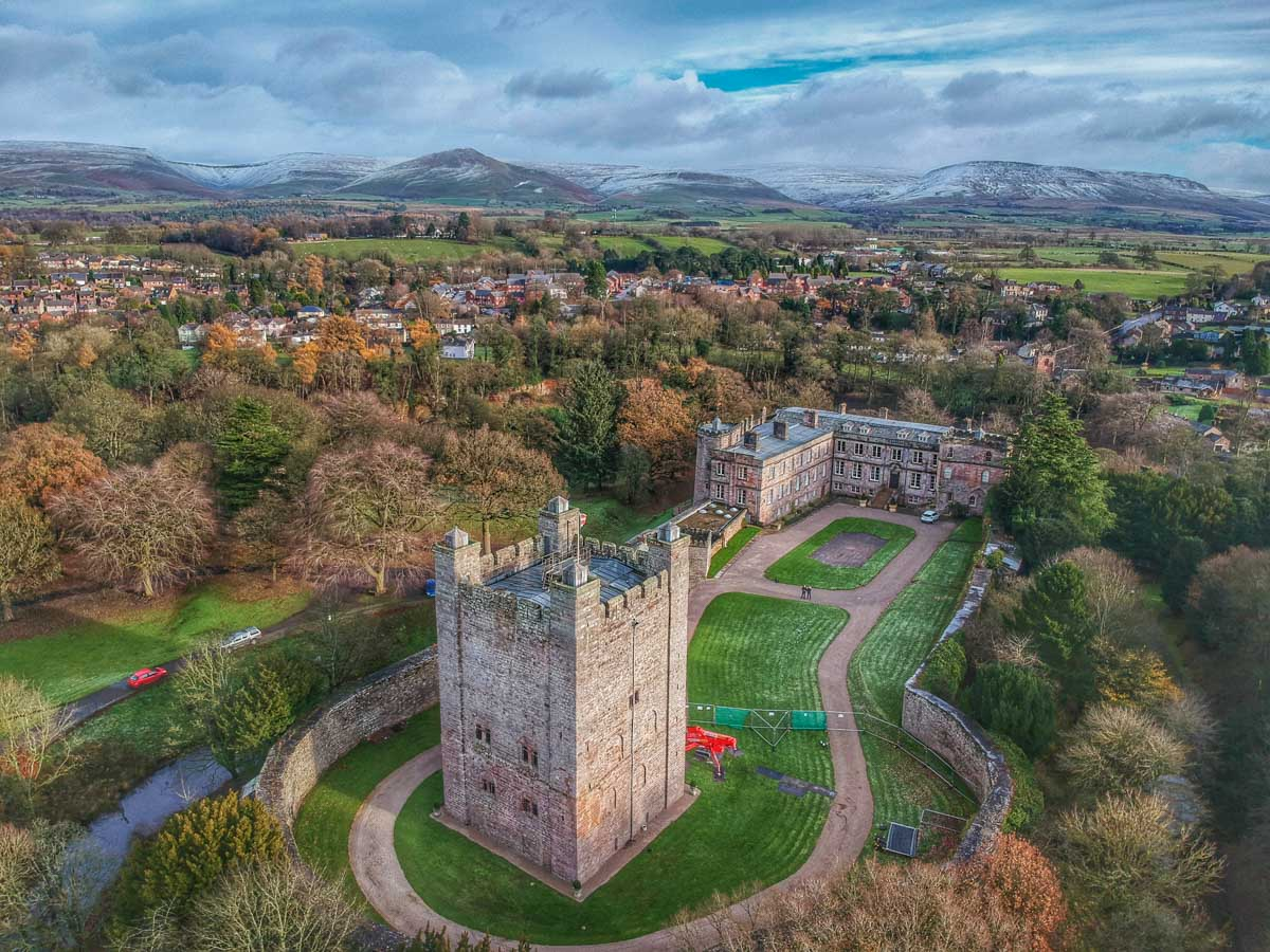 appleby-from-above-2 Appleby Castle - Above and Around (Video)