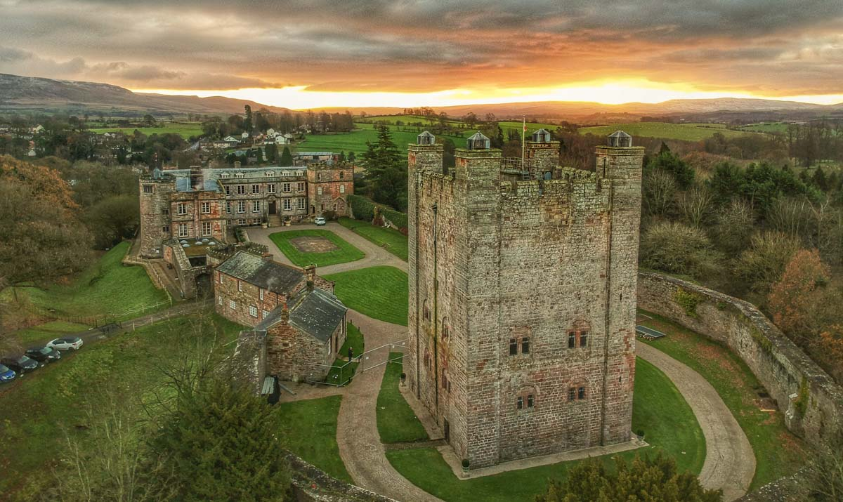 appleby-from-above-3 Appleby Castle - Above and Around (Video)