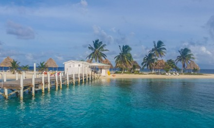Sailing Down The Coast of Belize