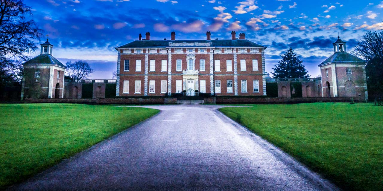 benday Views of Beningbrough Hall, Yorkshire
