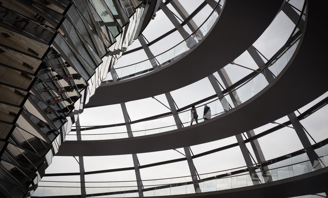 Berlin Minimal – The Reichstag and Bundestag Buildings 1