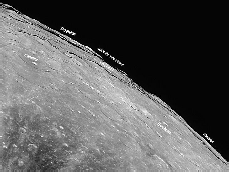 beta-1 The Highest Mountains in the Solar System