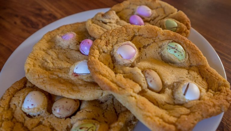 Mini Egg Cookies Recipe And A Brief History of the Easter Egg