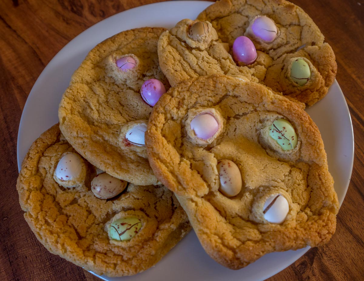 biscuits Mini Egg Cookies Recipe And A Brief History of the Easter Egg