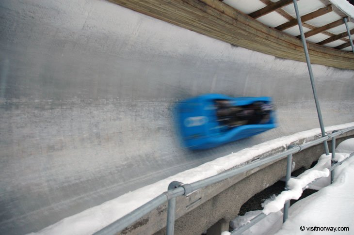bob1 Norway - Lillehammer, Speed and an Ice Hotel