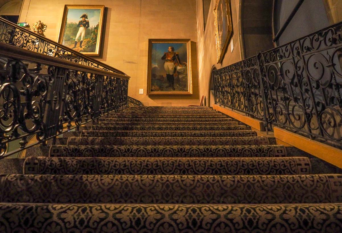 stairs and art bowes