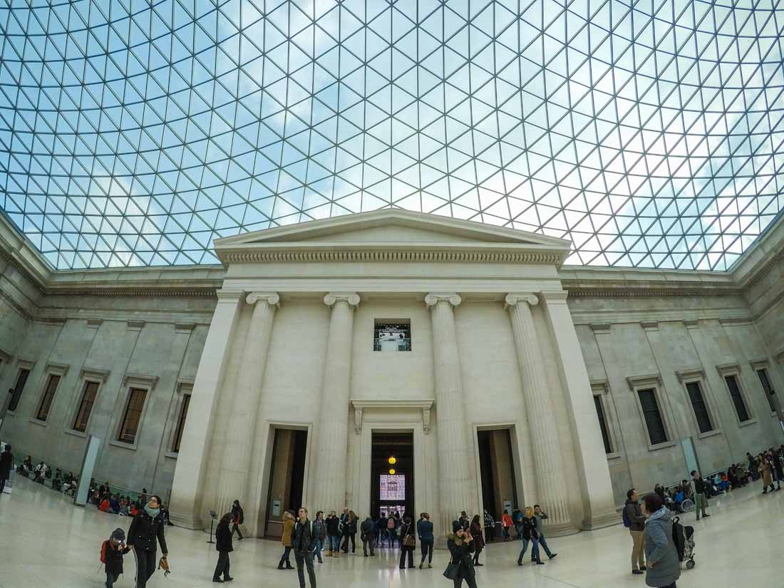 british-museum-court-5 The Great Court of The British Museum, London