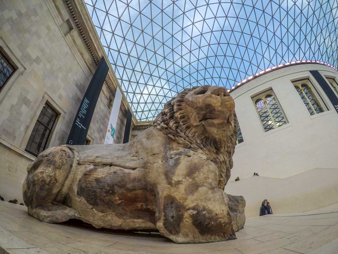 The Great Court of The British Museum, London