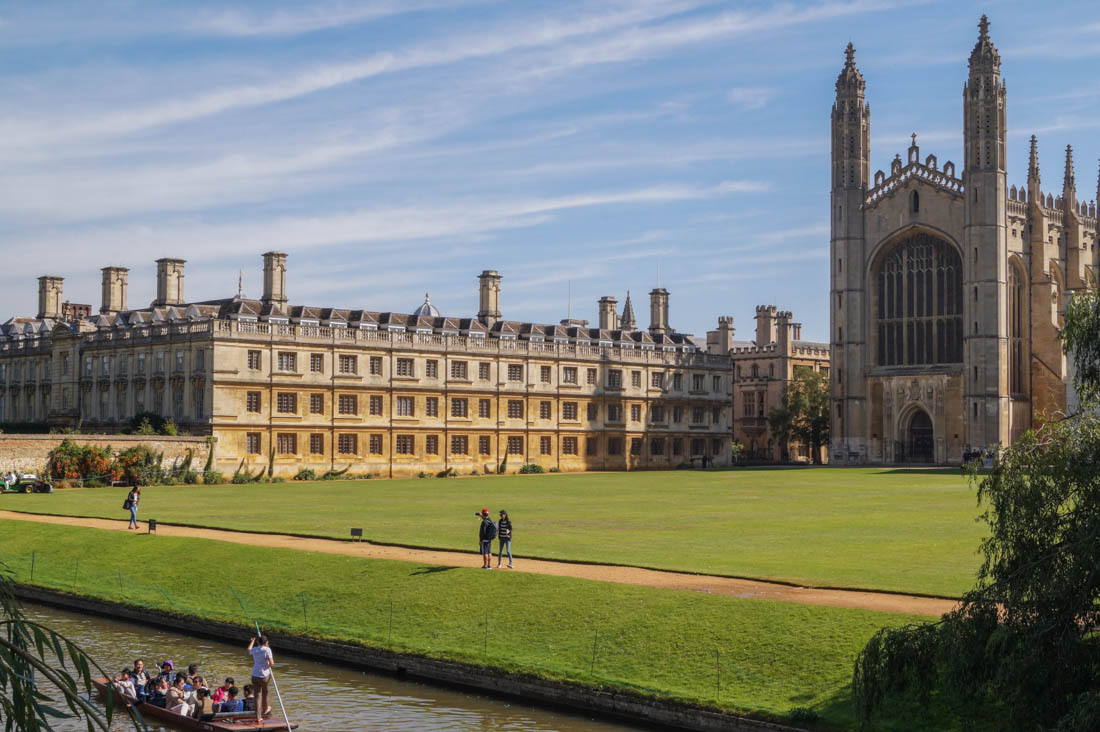 Cambridge - A look around King's College and Pembroke College 1