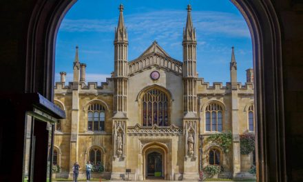 Cambridge – Trinity College and Corpus Christi College