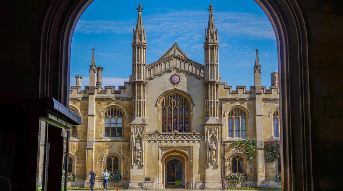 Cambridge – Trinity College and Corpus Christi College