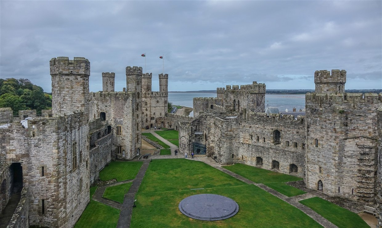Caernarfon Castle The Mighty Medieval Fortress Baldhiker