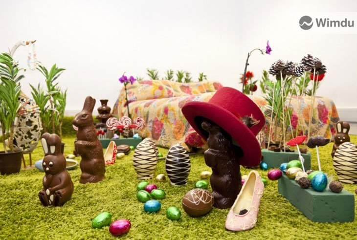 Want To Stay In A Chocolate Factory This Easter For Charity?