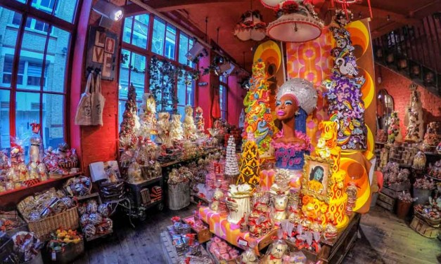Choccywoccydoodah – Amongst The Fabulously Flamboyant Masterpieces