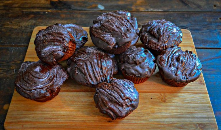 Chocolicious Chocolate Covered, Chocolate Muffins