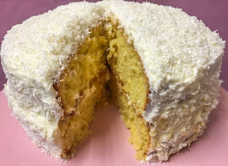 Decadent Coconut and Lime Cake
