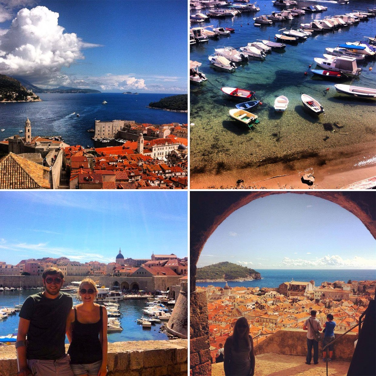 dubrovnik harbour and views